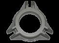 Pièce en fonte d'aluminium pour système de couplage dans une machine industrielle