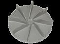Elément de turbine en fonte d'aluminium produit dans notre fonderie en  Belgique