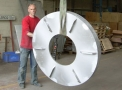 15 Elément de machine industrielle | Fonderie Aluminium Declercq