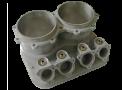 Bloc-moteur de moteur « boxer » pour ULM en fonte d'aluminium