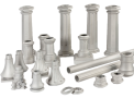Eléments d'un système de colonnes décoratives et modulaires