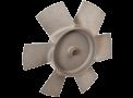 Hélice pour système de ventilation à usage militaire